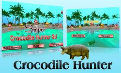 Sniper Crocodile Hunter 3D screenshot 4/6