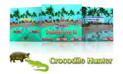 Sniper Crocodile Hunter 3D screenshot 5/6