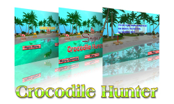 Sniper Crocodile Hunter 3D screenshot 6/6
