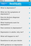 Depression  plain English health information from the BMJ Group screenshot 1/1