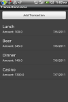 Group Expenses screenshot 3/6