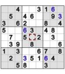 YG Yodoku (Sudoku game) screenshot 1/1