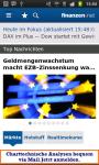 finanzennet Boerse und Aktien screenshot 1/6