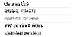 ★ Christmas for FlipFont® free screenshot 1/1