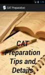 CAT MBA Preparation Facts screenshot 1/3