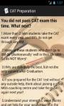 CAT MBA Preparation Facts screenshot 3/3