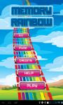 Memory Rainbow screenshot 1/6
