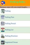 Parking Rules screenshot 2/3