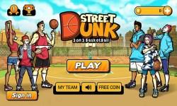 Street Dunk 3 on 3 Basketball screenshot 1/6