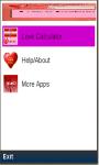New lovecalculator screenshot 1/1