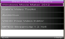 Original Video Editor screenshot 1/1