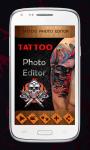 Tattoo Photo Editor screenshot 2/6