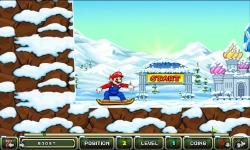 My friends Mario and sonic Toon Skiing screenshot 1/5