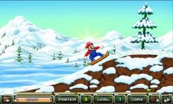 My friends Mario and sonic Toon Skiing screenshot 4/5