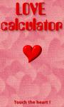 LoveCalcultor screenshot 1/3