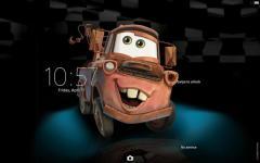 XPERIA Cars Tow Mater Theme extra screenshot 3/4