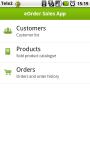 eOrder Sales App screenshot 1/6
