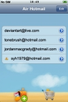 Air Hotmail (Windows Live Email Manager) screenshot 1/1