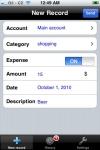 sMoneybox - Spending Tracker screenshot 1/1