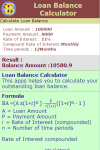Loan Balance Calculator V1 screenshot 3/3