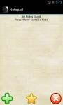 Notepad Vetaltech screenshot 1/4