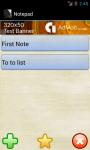 Notepad Vetaltech screenshot 2/4