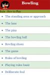 Rules to play Bowling screenshot 2/3