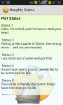 Naughty Status and_More screenshot 2/3