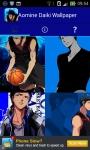 Kuroko no Basuke Aomine Daiki Anime Wallpaper screenshot 2/6