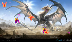 3D Dragon Live Wallpapers screenshot 1/5
