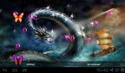 3D Dragon Live Wallpapers screenshot 2/5