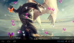 3D Dragon Live Wallpapers screenshot 3/5
