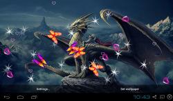 3D Dragon Live Wallpapers screenshot 4/5
