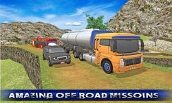Off Road Oil Truck Driving screenshot 4/5
