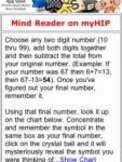 Mind Reader on myHIP screenshot 1/1