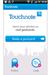 Touchnote Postcards for Android screenshot 1/4