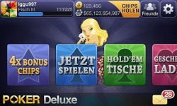 Texas HoldEm Poker Deluxe DE screenshot 1/6