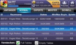 Texas HoldEm Poker Deluxe DE screenshot 2/6