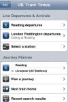 UK Train Times screenshot 1/1