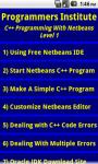 C Plus Programming With Netbeans screenshot 1/3
