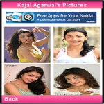 Kajal Agarwal Lite screenshot 2/4