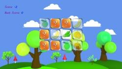 Memo Cards Fruits and Veggies screenshot 2/3