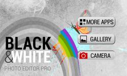 Black and White Photo Editor Pro screenshot 1/6