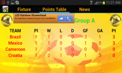 Worldcup 2014 Predictor And News screenshot 4/4