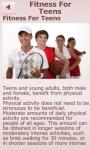 Fitness For Teens screenshot 2/6