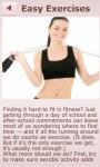 Fitness For Teens screenshot 3/6