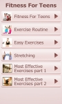 Fitness For Teens screenshot 6/6