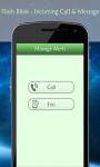 Flash Alert Call SMS screenshot 3/6