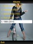 Taylor Swift Lyrics 2015 screenshot 1/2