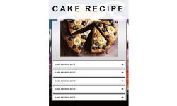Cake Recipes 2 screenshot 1/3
